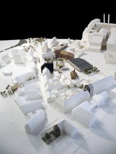 Gallery of Europan 11 Proposal: 'Dornröschen' / NAP - 17 Architecture Model Making, Architecture Panel, Architecture Student, Architecture Portfolio, Landscape Architecture, Architecture Design, Architecture Diagrams, Drawing Architecture, Urban Design Concept
