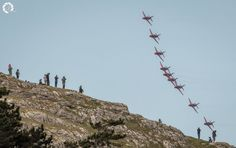 Red Arrows at Llandudno