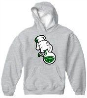 Men S-3XL Weed Cannabis 420 Rap Hip Hop Crewneck High Til I Die Sweatshirt