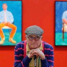 "This is the last weekend to see David Hockney's Portraits and 1 Still-life"" at The exhibition closes Sunday, July 29 after… Artist Bio, Artist At Work, David Hockney Portraits, David Hockney Photography, David Hockney Paintings, Pop Art Movement, Figure Painting, What Is Like, Lino Prints"