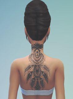 My Sims 4 Blog: Tattoo for Females by DigitalDolls312