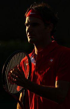 Roger Federer - Davis Cup - Australia v Switzerland: Day 1