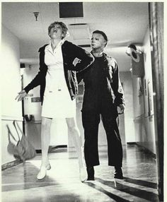 Halloween II. Nothing scarier than an abandoned hospital with a killer on the hunt