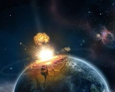 Nasa explained that : if the atomic bomb  which is going to crash world in 6 years cant be blocked, its gonna make a effect like 15 atomic bomb exploded. We still dont know where it is going to crash. If that bomb falls into ocean world is going to live the hell.