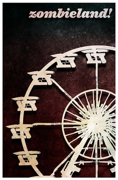 Zombieland (2009) - Minimal Movie Poster by Flef #minimalmovieposters #alternativemovieposters