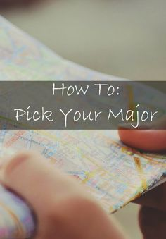 how to pick a major in college