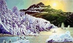 Take a look at this amazing Hidden Animals in Snow Illusion illusion. Browse and enjoy our huge collection of optical illusions and mind-bending images and videos. Hidden Art, Hidden Images, Hidden Pictures, Hidden Optical Illusions, Optical Illusion Paintings, Arte Pin Up, Bev Doolittle, Illusion Art, Wildlife Art