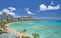 Honolulu, Hawaii....a great place to visit. Beautiful, yet Mexico is so much better in many ways and less expensive!