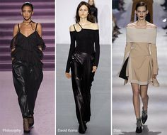 Fall/ Winter 2016-2017 Fashion Trends: Bare Shoulders Trends 2017 | For more inspirations visit and follow: www.delightfull.eu