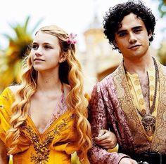 Myrcella Baratheon and Trystan Martell. GoT season 5.