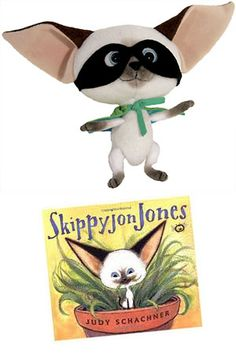Skippyjon Jones doll, puppet and book from MerryMakers, from the books by Judy Schachner