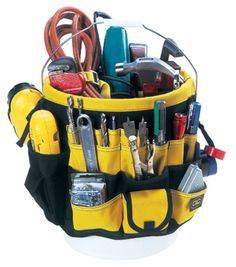 Custom LeatherCraft 4122 61 Pocket-In & Out Bucket Pockets