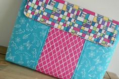 Padded Laptop Sleeve sewing pattern