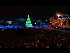 President Obama Delivers Remarks at the National Christmas Tree Lighting Ceremony, 2014 - YouTube