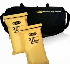 Sklz Super Sandbag | Despite some minor annoyances, we're very happy with the Sklz Super Sandbag and would recommend it to anyone looking to boost their workouts to the next level without spending an arm and a leg. It's a nice way to throw variety into your weight routine. The loose material inside (sand, water, etc.) shifts and can be difficult to control, therefore it requires more core strength and demands that you stay engaged with your workout.