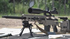 Cadex CDX30 Chassis with Remington 700, cal.308 WIN, sniper rifle.