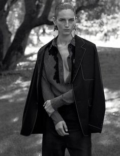 Vivien Solari, Clement Chabernaud by Josh Olins for WSJ Magazine December:January 2015-2016 7