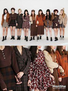 Korean Fashion – How to Dress up Korean Style – Designer Fashion Tips Fashion Group, Pop Fashion, Daily Fashion, Vintage Fashion, Fashion Looks, Fashion Outfits, Fashion Design, Fashion Ideas, Street Fashion