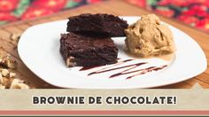 Brownie de Chocolate - Receitas de Minuto #117