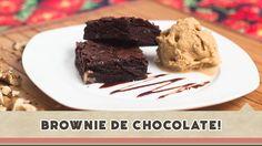 Brownie de Chocolate - Receitas de Minuto #117