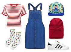 Check out 6 Ways to Style a Disney Hat | bright summer fashion + Lilo & Stitch hat | [ http://di.sn/6006B4Zyw ]