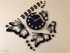 Clocks Trendy Acrylic Wall Clock Material: Plastic Pack: Pack of 1 Country of Origin: India Sizes Available: Free Size   Catalog Rating: ★4.1 (2055)  Catalog Name: Graceful Wall Clocks CatalogID_1798937 C127-SC1440 Code: 094-10056619-5511