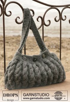 Beautiful knitted bag!
