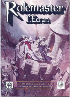 Rolemaster - French version, L'Ecran