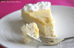 24/7 Low Carb Diner: Lemony Lime Cheesecake