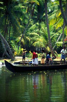 Water Taxi, Kerala , India