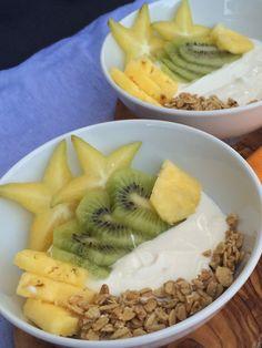 Tropical Fruit & Yogurt Bowls