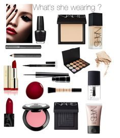 """Untitled #14"" by sdbeautyandfashion on Polyvore featuring beauty, Burberry, Elizabeth Arden, MAC Cosmetics, NYX, OPI, NARS Cosmetics and Smashbox"