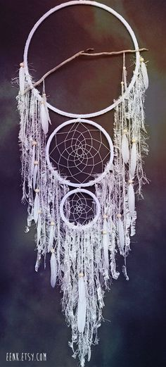 des dreamcatchers ou attrapes reves originaux