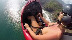 Gyrocopter Girl Its amazing what you can do without clothes! https://vimeo.com/111389739