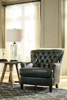 Malakoff - Barley - Accent Chair | Leather | Pinterest | Chairs ...