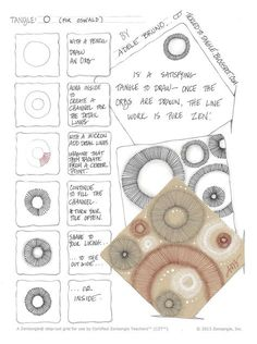 A New Step Out... A few weeks ago, my  Wednesday's Words of Wisdom featured a tile that I completed featuring circular shapes filled wit...