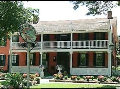 Haunted Buxton Inn Granville, Ohio:   Audrey and Orville Orr, owners of the Buxton Inn since 1972, said they never advertise their inn as haunted, but the stories of the ghosts that inhabit the 199-year-old building have gotten around, resulting in recognition by TripAdvisor.com as one of The 10 Most Haunted Hotels in America.