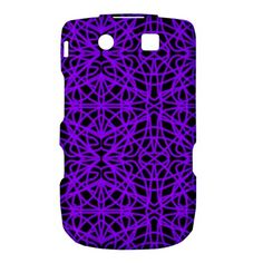 Black And Purple String   7200x7200 BlackBerry Torch 9800 9810 Hardshell Case