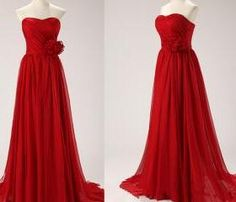 Red Prom Dress, Red Prom Gown, #prom, #redpromdresses
