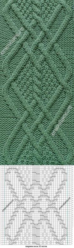 New Knitting Stitches Purl Ideas Cable Knitting Patterns, Knitting Stiches, Knitting Charts, Easy Knitting, Knitting Designs, Knit Patterns, Knitting Projects, Crochet Stitches, Stitch Patterns