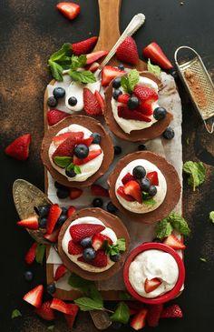 Vegan Chocolate Cheesecake | Minimalist Baker Recipes