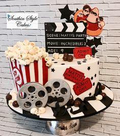 Movie Themed Cake Birthday Cake