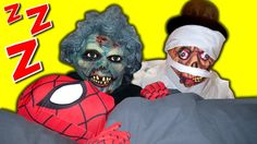 SPIDERMAN vs Zombies feat. Crazy Joker Zombie & Mummy - In Real Life Sup...