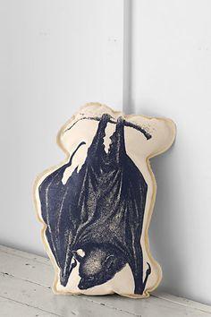Bat Decorative Pillow.