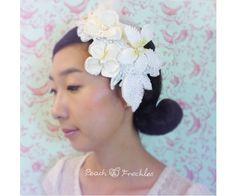Bridal Hair Accessory Wedding Headband Wedding by PeachAndFreckles, $150.00