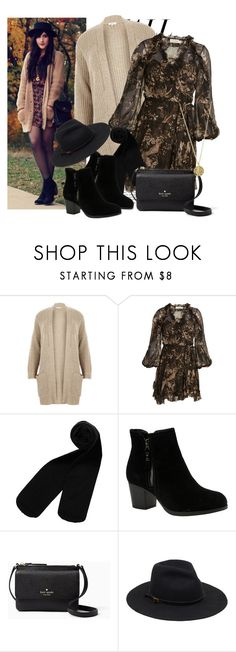 """""""567. Fall Dress"""" by slovak-queen1997 ❤ liked on Polyvore featuring River Island, Zimmermann, Monki, Skechers, Kate Spade and Senso"""