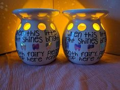 Tooth Fairy Luminary With Free Svgs Gift Ideas Tooth