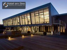 Hotel am See - Gästehaus der Salzgitter AG. Die Wurzeln im Stahlbau erkennt man an der Architektur des Hauses