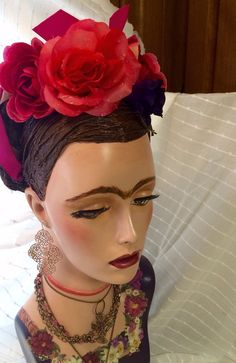 Mannequin Head, Hand Painted