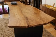 WOOD DESIGN INSPIRATION    Live Edge Table    #LiveEdge #table #furniture